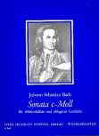 Bach, Johann Sebastian - Sonate c-moll - Altblockflöte und obligates Cembalo
