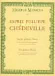 Chédeville, Esprit Philippe - Sechs galante Duos - 2 Sopranblockflöten
