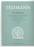 Telemann, Georg Philipp - 36 Fantasien -  Heft 2 AT