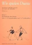 Lutz, Willibald (Hrg.) - Wir spielen Duette, Reihe A -  Heft 1 SA