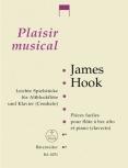 Hook, James - Leichte Spielstücke - Altblockflöte und Klavier