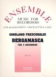 Frescobaldi, Girolamo - Bergamasca - SATB