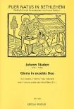 Staden, Johann - Gloria in excelsis Deo -  2 Soprane, 4 Blockflöten und Bc