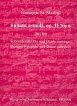 St. Martini, Giuseppe - Sonate a-moll op. 2 / 6 - Sopranblockflöte und Basso continuo