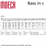 great bass recorder Moeck 8621 Consort, Ahorn stained