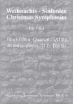 Weihnachts-Sinfonien - für Blockflötenquartett SATB