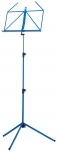 Retractable Music Stand,  blue metal