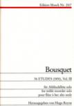 Bousquet, Narcisse - 36 Etüden für Altblockflöte -  Band 3