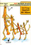 Posegga, Hans - Leichte Blockflötenquartette Band 5 - Quartett der Mäuse - SATB
