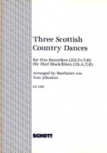 Three Scottish Country Dances - (Arr. T. Johnston) SSATB