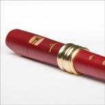 Sopranblockflöte Mollenhauer 4119R Adri's Traumflöte, Birnbaum rot, barocke Griffweise