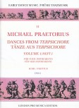 Praetorius, Michael - dances from Terpsichore  - vol 1 SATB
