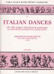 Italian Dance Music - aus dem frühen 16. Jahrhundert  ATTB
