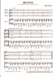 Bonsor, Brian - Beguine - SAT und Klavier