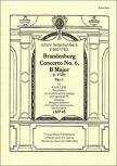 Bach, Johann Sebastian - Brandenburgisches Konzert Nr. 6 - 1. Satz  AAATBB (Partitur)