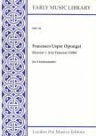 Usper, Francesco - Ricercar / Aria Francesce - SATB