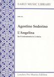 """Soderino, Agostino - Canzona """"L´Angelina"""" - SATB + SATB"""