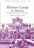 Canali, Floriano - Canzona 'La Balzana' - SATB + SATB