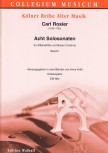 Rosier, Carl - Acht Solosonaten - Band 2 - Altblockflöte und Basso continuo