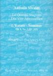 """Vivaldi, Antonio - Concerto Op. 8, 2 """"L'Estate""""  - AATB- recorder quartet"""