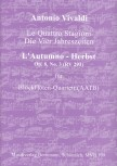 "Vivaldi, Antonio - Concerto Op. 8, 3 ""L' Autumno - Herbst""  RV 293  - AATB"