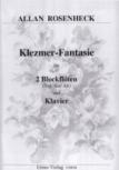 Rosenheck, Allan - Klezmer-Fantasie - Sopran-,  Altblockflöte und Klavier.