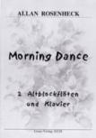 Rosenheck, Allan - Morning Dance - 2 Altblockflöten und Klavier
