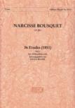 Bousquet, Narcisse - 36 Etüden für Altblockflöte -  Band 1