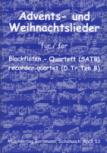 Advents- und Weihnachtslieder - for Recorder Quartet SATB