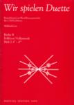 Lutz, Willibald (Hrg.) - Wir spielen Duette - Reihe B Heft 2  AA