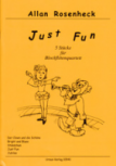 Rosenheck, Allan - Just Fun - SATB