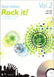 Hellbach, Daniel - Rock it! Vol. 2  - 3 - 4  treble recorder + CD
