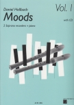 Hellbach, Daniel - Moods Vol. I - 2 soprno recorders, Piano + CD