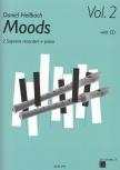 Hellbach, Daniel - Moods Vol. 2 - 2 Sopranflöten, Klavier + CD