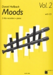 Hellbach, Daniel - Moods Vol. 2 - 2 treble recorders, Piano + CD