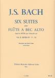 Bach, Johann Sebastian - Sechs Suiten Vol. 2 BWV 10010-12 - Altblockflöte solo