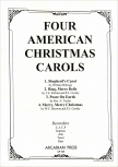Four American Christmas Carols - Recorder Quartet SATB