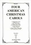 Four American Christmas Carols - Blockflötenquartett  SATB