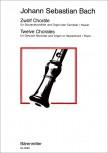 Bach, Johann Sebastian - 12 Choräle - Sopranblockflöte und Orgel