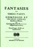 Gibbons, Orlando - Fantasies of three parts - Blockflötentrio