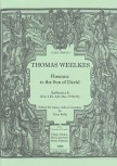 Weelkes, Thomas - Hosanna to the Son of David - Recorder Sixtet SSATBB