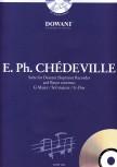 Chédeville, Esprit Philippe - Suite G-dur - Sopranblockflöte und Bc + CD