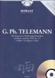 Telemann, Georg Philipp - Triosonate F-dur - 2 Altblockflöten und Bc. + CD
