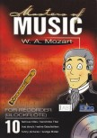 Mozart, Wolfgang Amadeus - Masters of Music  -  Sopranblockflöte + CD
