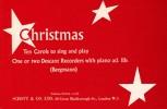 Christmas - 2 Soprano recorders an Piano