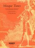 Masque Tunes - Maskentänze - Sopranflöte und Klavier (Cembalo)