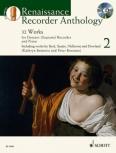 Bennetts, Kathryn / Bowman, Peter- Renaissance Recorder Anthology 2 - Sopranblockflöte und Klavier + CD