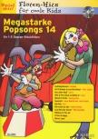 Spiel mit! Flöten-Hits  für coole Kids - Megastarke Popsongs 14 - 2 Sopranblockflöten + CD