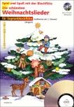 Spiel und Spaß mit der Blockflöte - Die schönsten Weihnachtslieder - 1 - 2 Sopranblockflöten + CD