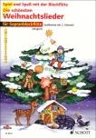 Spiel und Spaß mit der Blockflöte - the most beautiful christmas songs - 1 - 2 Soprano Recorders